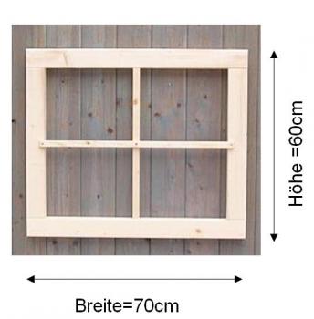 Gartenhausfenster 70x60cm abdeckrahmen ra1 4 for Fenster 70x60