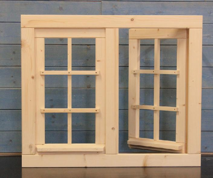 gartenhausfenster doppelfenster 81x68cm zum ffnen dreh kippbeschlag 4 sprossenfelder jp. Black Bedroom Furniture Sets. Home Design Ideas