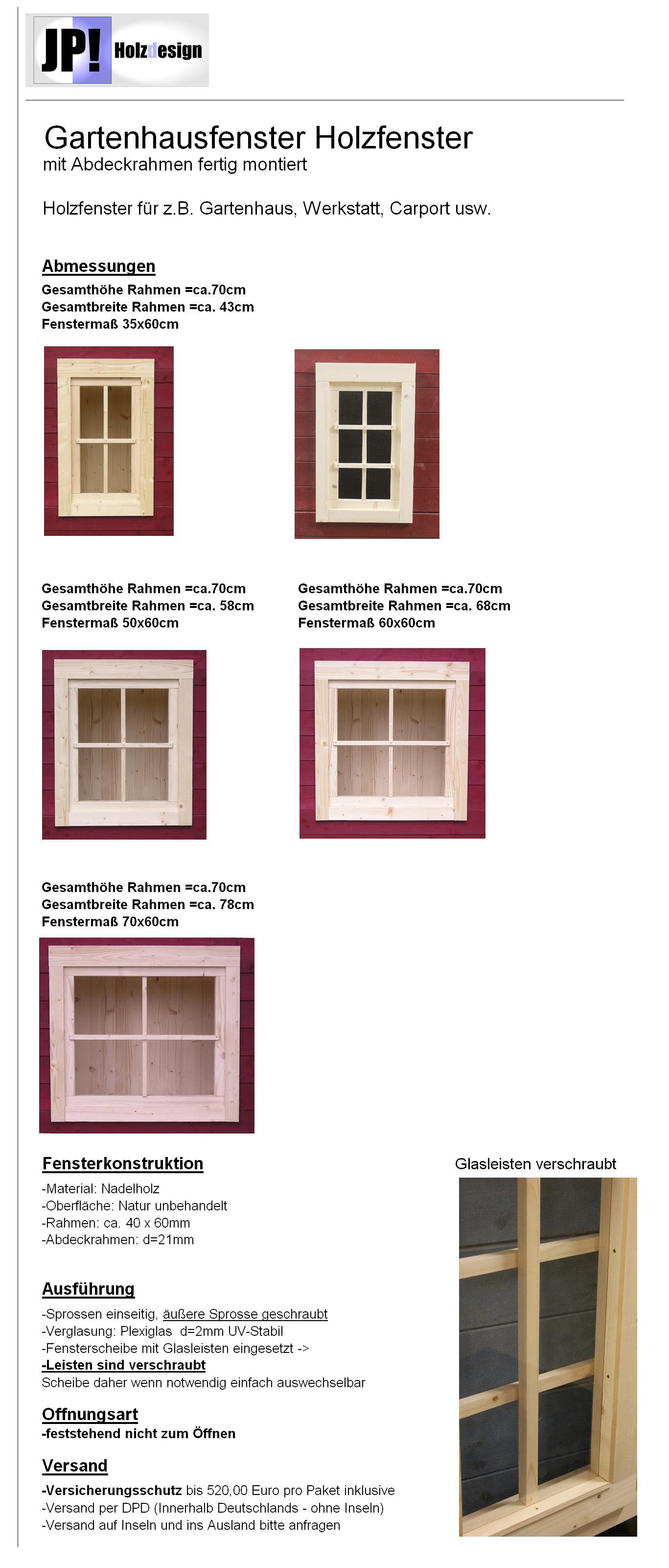 gartenhausfenster holzfenster fenster carport garage. Black Bedroom Furniture Sets. Home Design Ideas