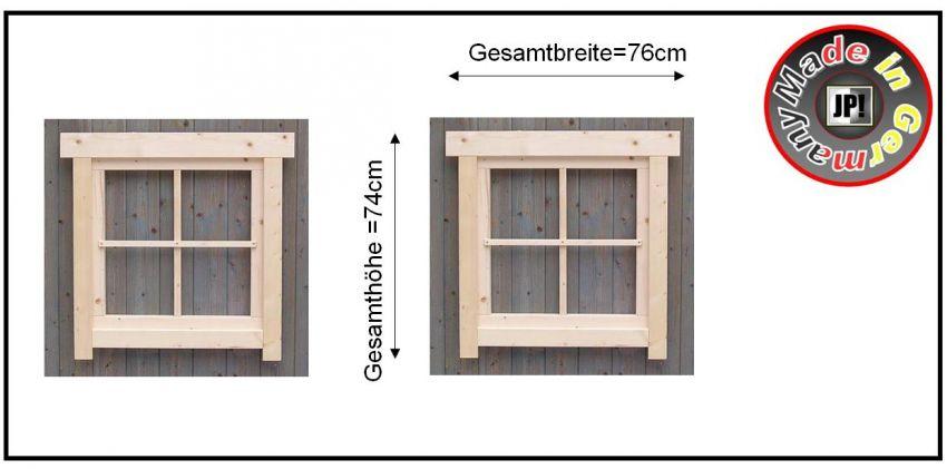 Fenster holzfenster gartenhausfenster sprossenfenster for Fenster 60x60