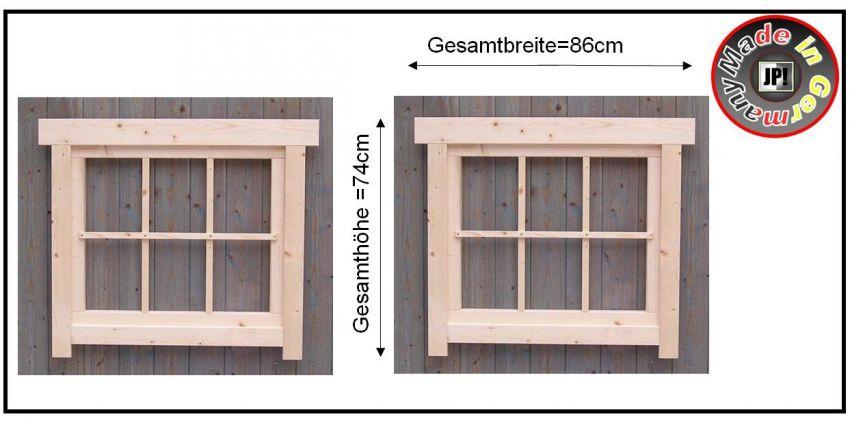 Fenster holzfenster sprossen gartenhausfenster for Fenster 70x60