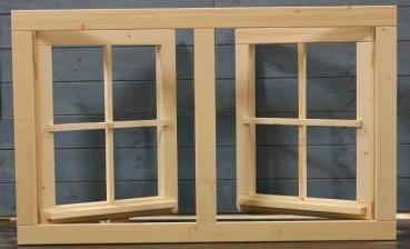 Gartenhausfenster Doppelfenster 111x68cm Zum Offnen Drehbeschlag 4